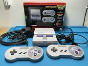 Super Nintendo Entertainment System Snes Classic Edition Modded 200+ Games