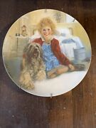 America's Oldest 1854 Edwin M. Knowles Annie Collectible Plates Annie And Sandy