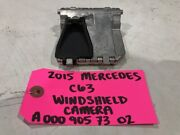 15 Mercedes Benz Amg C63 C350 W204 Oem Front Windshield Camera A0009057302