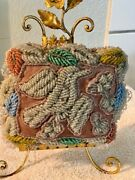 Vintage Antique Native American Mohawk Iroquois Beaded Bird Pin Cushion Whimsy