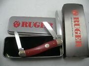 Case Ruger Stockman Knife Never Used In Box 10318 Ss