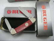 Case Ruger Canoe Knife Never Used In Box 102131 Ss