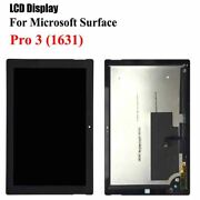 Lcd Display Touch Digitizer For Microsoft Surface Pro 3 1631 Tom12h20 V1.1 V1.0