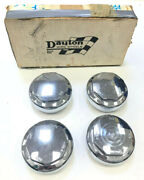 Dayton Octagon Knock Off Caps Set Of 4 Brand New In Stock Dayton Orig.components