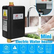 3800w Electric Instant Hot Tankless Water Heater Shower Kitchen Tap Faucet 110v