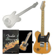 2021 Silver Fender Stratocaster Guitar Shaped 1 Oz Coin - 75th Anniversary