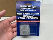 Lot Of 30 - Evinrude Johnson Genuine Parts Anode And Insert Assembly - Pn 436745