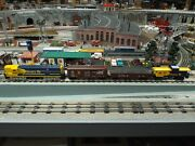 Lionel Custom And03950and039s Sf Train Master Fm-ln+railsounds Boxcar/gondola/caboose-nibs