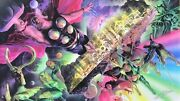 Alex Ross Rare Thor Asgard Universe Huge Giclee Canvas Signed Last One