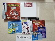 Pokemon Ruby Version Complete In Box Game Boy Advance Gba - New Save Battery