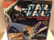 Star Wars Power Passers Duel At Death Star Vader Luke Slot Racing Set 1978