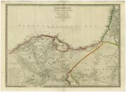Antique Map Of Egypt And The Nile Delta By Wyld 1854