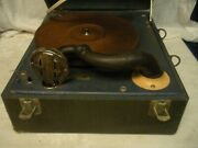 Vintage Waters Conley Co Phonola Record Player Victrola Type Plays 78 Rpm