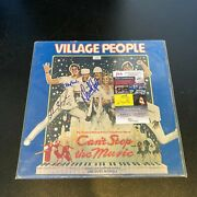 Village People Band Signed Autographed Record Album With 7 Signatures Jsa Coa