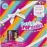 Party Popteenies - Rainbow Unicorn Surprise Box Playset With Confetti,...