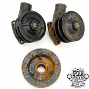 Ford Flathead Dual Pulley Water Pump And Crankshaft Pulley Set - 21 Stud