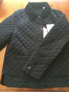 Uniqlo Women Quilted Jacket Idlf Ines De La Fressange In Black Xs - Nwt