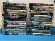 30 Game Lot Of Sony Ps3 Playstation 3 Just Cause Little Big Planet Madden