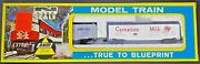 Ahm Minitrains N Scale New Old Stock - 50and039 Reefer Therm Ice And Carnation - Ns04
