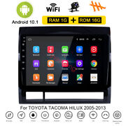 Android 10.1 Car Dvd Stereo Radio Gps Navi Player For Toyota Tacoma Hilux 05-13