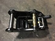 New Manual Backhoe Quick Hitch Coupler For John Deere 410j Includes Pins