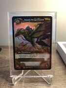 Amani Dragonhawk Loot Card - Unscratched World Of Warcraft Tcg Wow Mount