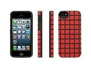 Griffin Gb35950 Meshups Case For Iphone 5/5s - Red / Grey Trim