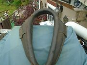 Vintage Leather Horse Mule Ox Collar Harness Yoke For Décor Or Restore