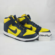 Nike Dunk Montantes Randeacutetro Qs And039michiganand039 Us 11