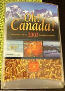 Oh Canada Uncirculated Coin Set 2003 Royal Canadian Mint