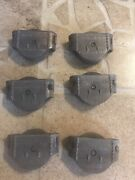 1890 Antique Decorative Stover Mfg. Co. Pulley Hardware Lot Of 6
