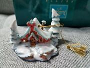 Enchanted Places Nestled In The Snow 1996 Ornament From Peter And The Wolf