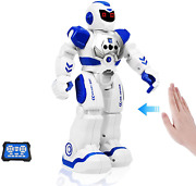 Rc Robot For Kids Remote Control Robot Toys With Led Lights Infrared Control