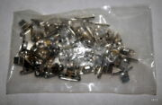 50 Pack Ss Boat Awning Side Mounts 15/16 Center To Center