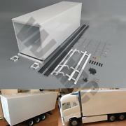 1 / 14 Scale Metal Container Diy Kit For 1/14 Scale Tamiya Remote Control Truck