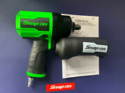 Snap On 1/2 Drive Air Impact Wrench Green Pt850