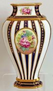 Rare Royal Crown Derby Vase - Date Code For 1909 - 7 And 3/8 Inches Tall