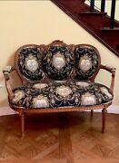 Auth Antique Louis Xvi Italian French Collected Stunnng Sofa Couch