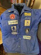 Vintage Plymouth New Jersey Racing Jacket With Original Patches