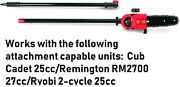 8 Polesaw With Bar And Chain For String Trimmer Polesaws Powerheads Fit Yours