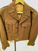 Ww2 Usaaf Ike Jacket Excellent Shape Lining Intact Authentic