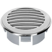Boat 3 Domed Chrome Swim Platform Deck Vent Drain Grill 60469 Replacement