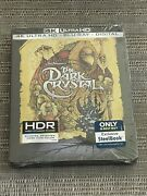 The Dark Crystal - 4k Steelbook New Sealed Sold Out Best Buy Exclusive Rare