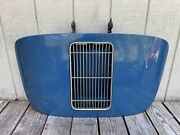 Porsche 356 A B Coupe Engine Lid Decklid W/ Original Grill And Hinges
