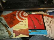Lot Of 6 Vintage Bishop Gun Stocks Firearms Catalogs With Some Extras