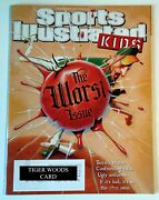 Tiger Woods Card Jan / Feb 2019 Si For Kids Magand039 Uncut Panel In Magand039 New