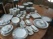 20 Pc Place Setting Mikasa Intaglio Garden Harvest With Accompanying Piecesandnbsp