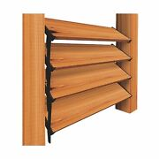 Nuvo Iron Louver Blinds And Shutter System - Hardware Kit Designed For Use Of ...