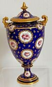 Rare And Exceptional Royal Crown Derby Vase And Lid - Date Code For 1899
