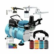 Master Airbrush Cool Runner Ii Dual Fan Air Compressor Cake Decorating System...